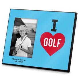 Golf Photo Frame I Love Golf