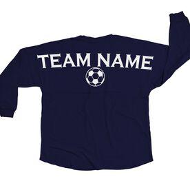 Soccer Statement Jersey Shirt Soccer Team Name