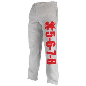 Cheerleading Fleece Sweatpants 5-6-7-8