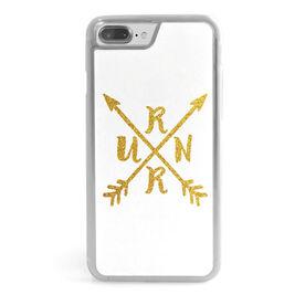 Running iPhone® Case - RUNR Crossed Arrows