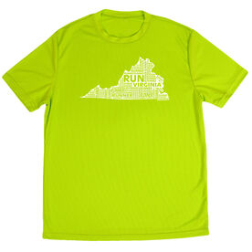 Men's Running Short Sleeve Tech Tee Virginia State Runner