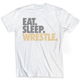 Vintage Wrestling T-Shirt - Eat Sleep Wrestle