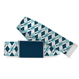 Field Hockey Lifestyle Belt Argyle Pattern