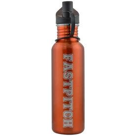 Varsity Fastpitch 24 oz Stainless Steel Water Bottle