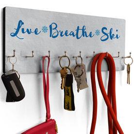 Skiing Hook Board Live Breathe Ski