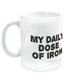 Golf Ceramic Mug My Daily Dose Of Iron