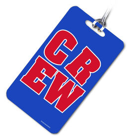 Crew Bag/Luggage Tag CREW Block (Red/Blue)