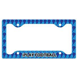 Iplay Football License Plate Holder