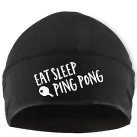 Beanie Performance Hat - Eat Sleep Ping Pong