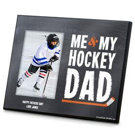 Hockey Photo Frame Me & My Hockey Dad