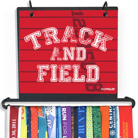 BibFOLIO Plus Race Bib and Medal Display Track and Field