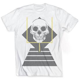 Vintage Football T-Shirt - Skull Grin