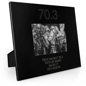 Triathlon Engraved Picture Frame - 70.3