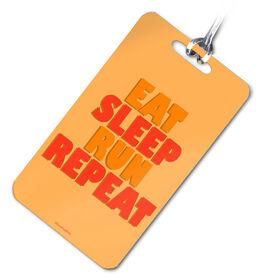 Running Bag/Luggage Tag Eat Sleep Run Repeat