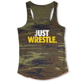 Wrestling Camouflage Racerback Tank Top - Just Wrestle