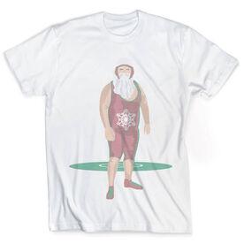 Vintage Wrestling T-Shirt - Wrestling Santa