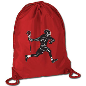 Lax Player Sport Pack Cinch Sack