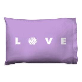 Volleyball Pillowcase - LOVE Volleyball