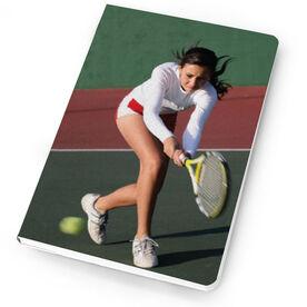 Tennis Notebook Custom Photo