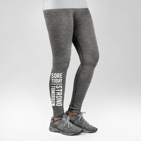 Cross Training Performance Tights Sore Today Strong Tomorrow