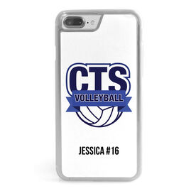 Volleyball iPhone® Case - Custom Team Logo
