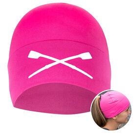 Performance Ponytail Cuff Hat Crossed Oars