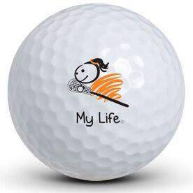 My Life - Lacrosse (Female) Golf Balls