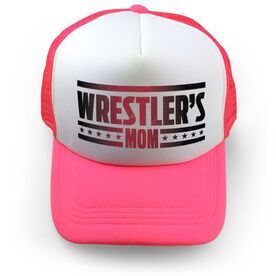 Wrestling Trucker Hat Wrestlers Mom