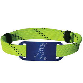 Soccer Lace Bracelet Girl Player Adjustable Sport Lace Bracelet