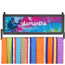 AthletesWALL Medal Display - Personalized Catcher With Tie-Dye