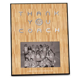 Volleyball Photo Frame Thank You Coach