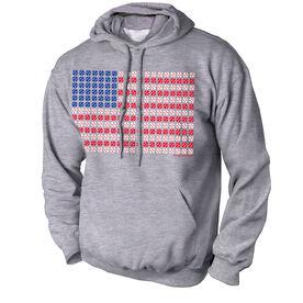 Baseball Standard Sweatshirt Patriotic Baseball