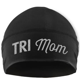 Run Technology Beanie Performance Hat - Tri Mom