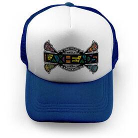 Guys Lacrosse Trucker Hat - Laxheads Apocalax