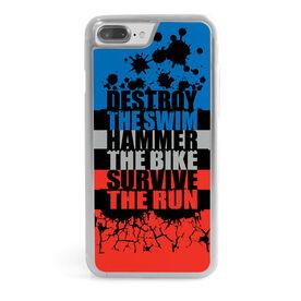 Triathlon iPhone® Case - Destroy