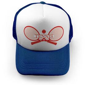 Tennis Trucker Hat - Crest