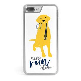 Running iPhone® Case - Never Run Alone
