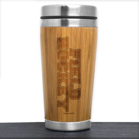 Bamboo Travel Tumbler Field Hockey