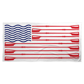 Crew Beach Towel American Flag