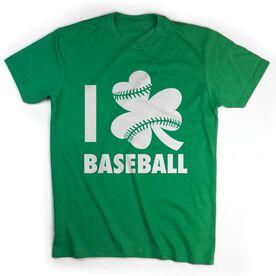 Baseball Tshirt Short Sleeve I Shamrock Baseball