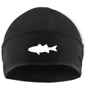 Beanie Performance Hat - Striped Bass