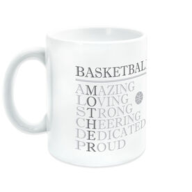 Basketball Ceramic Mug - Mother Words
