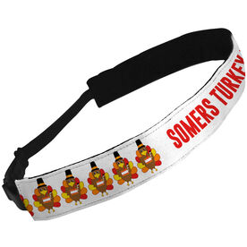 Julibands No-Slip Headbands Personalized Turkeys Your Text Here