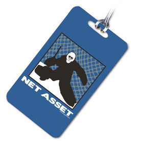 Hockey Bag/Luggage Tag Net Asset Hockey