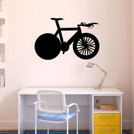 Tri Bike Removable ChalkTalkGraphix Wall Decal