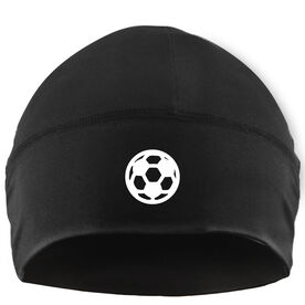Beanie Performance Hat - Soccer Ball Icon