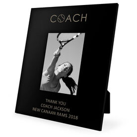 Tennis Engraved Picture Frame - Coach