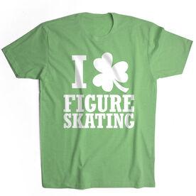 Figure Skating Short Sleeve T-Shirt - I Shamrock Figure Skating