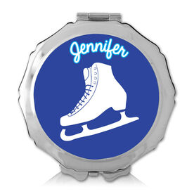 Personalized Figure Skate Color Compact Mirror