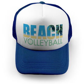 Volleyball Trucker Hat - Beach Volleyball